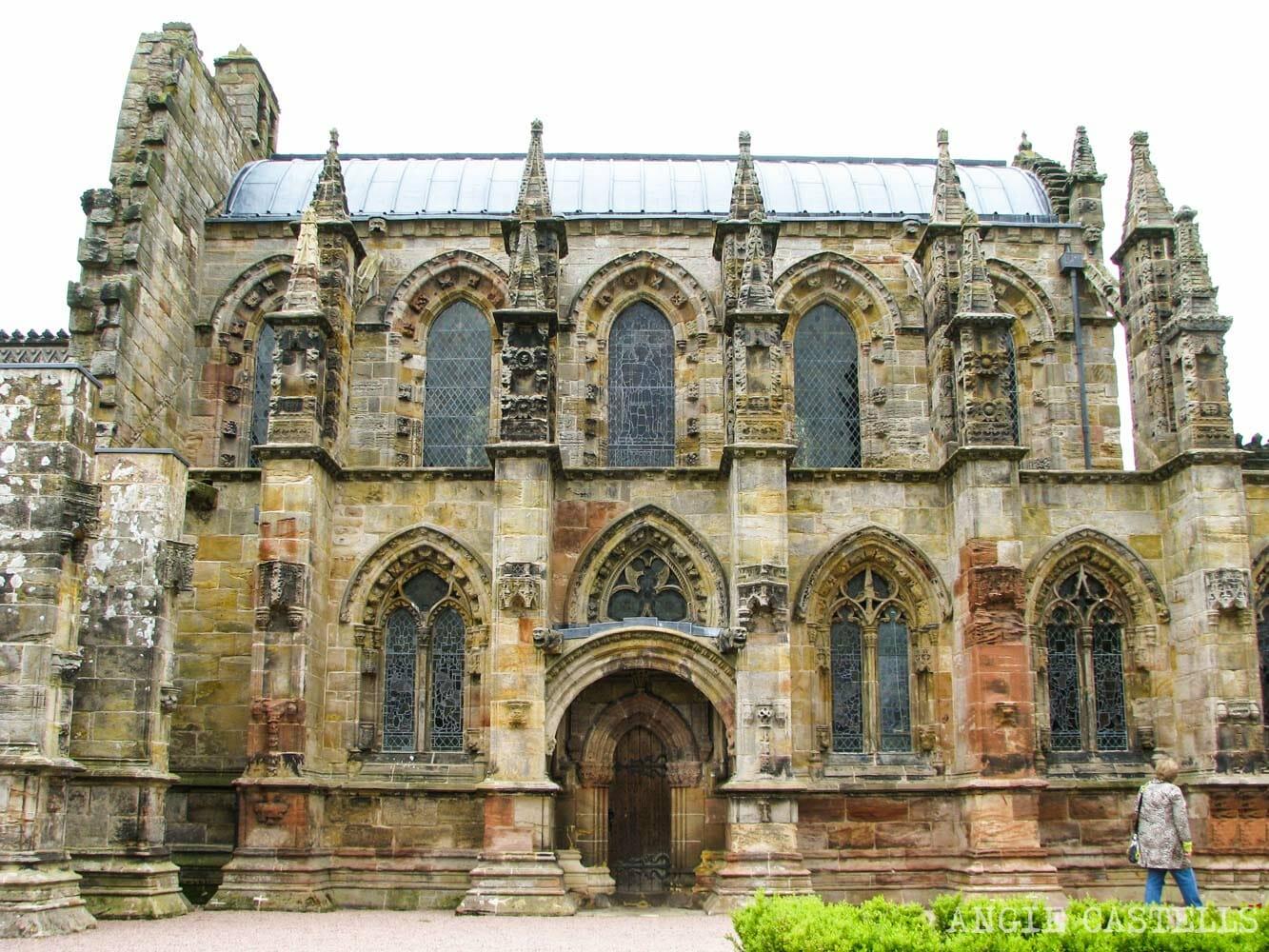 Visitar la capilla de Rosslyn desde Edimburgo - Como llegar y excursion al Roslin Glen