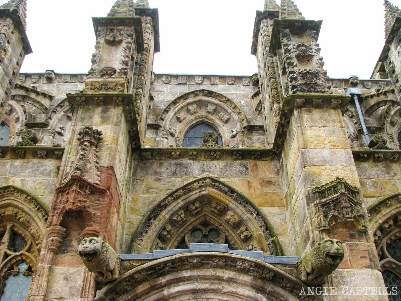 Las leyendas de la capilla de Rosslyn, en Edimburgo