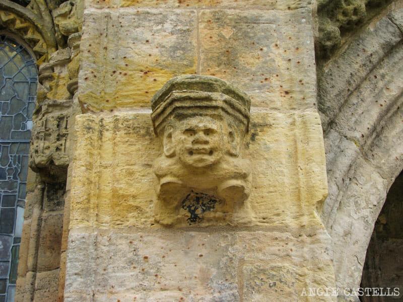 Secretos y leyendas de la capilla de Rosslyn, en Edimburgo
