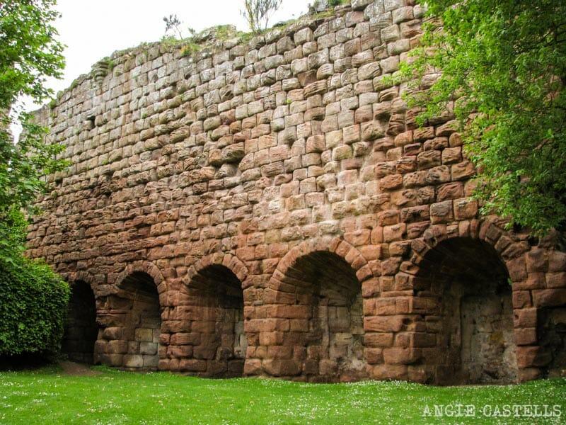 El castillo de Rosslyn y los bosques del Roslin Glen