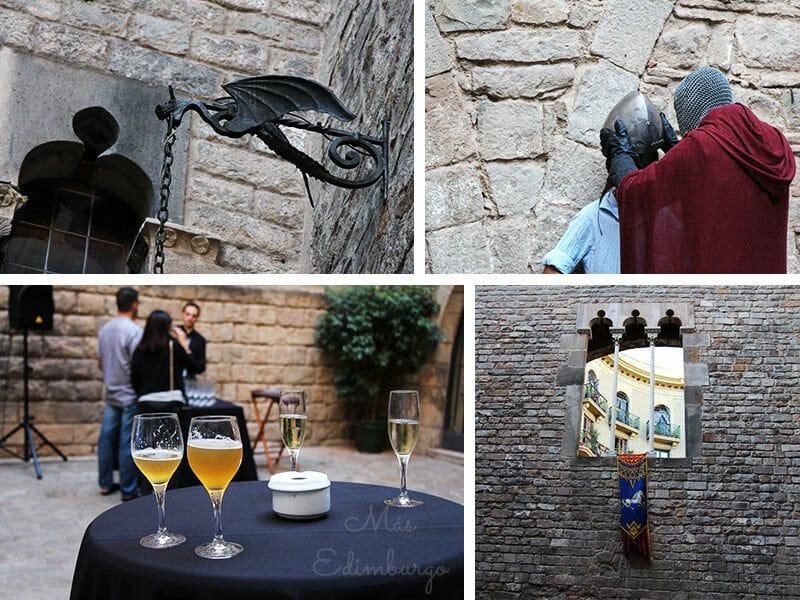 Barcelona Sopar medieval Palau Requesens (2)