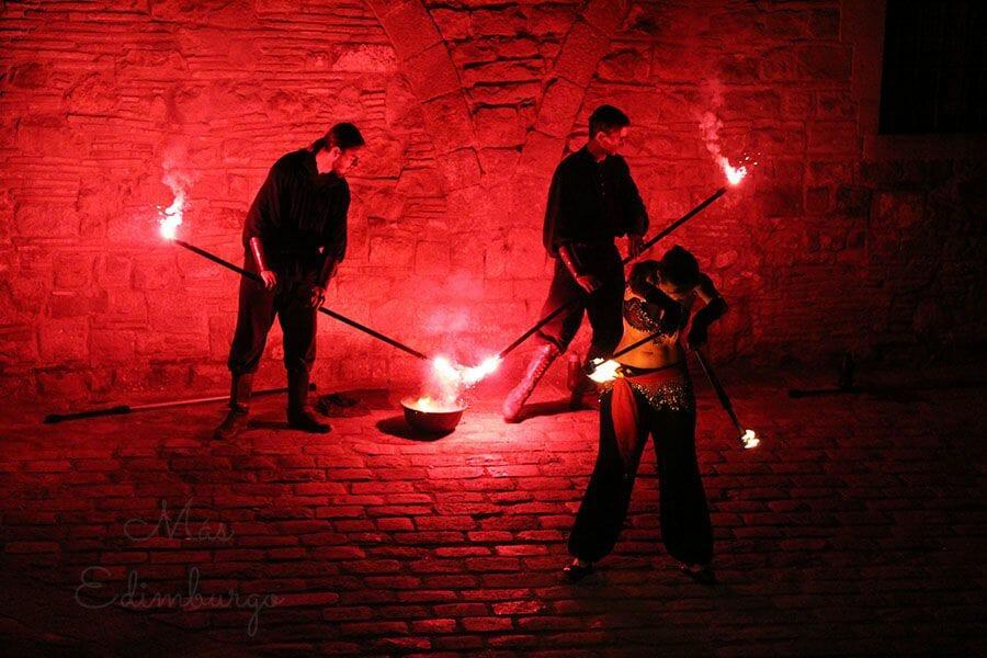 Una noche medieval en el Palau Requesens, en Barcelona