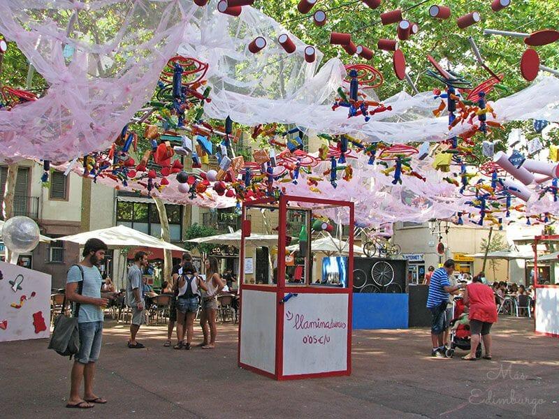 Festes de Gracia Barcelona Mas Edimburgo 13