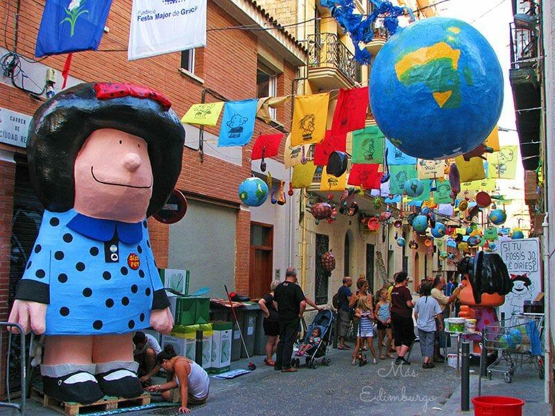 Festes de Gracia Barcelona Mas Edimburgo 3