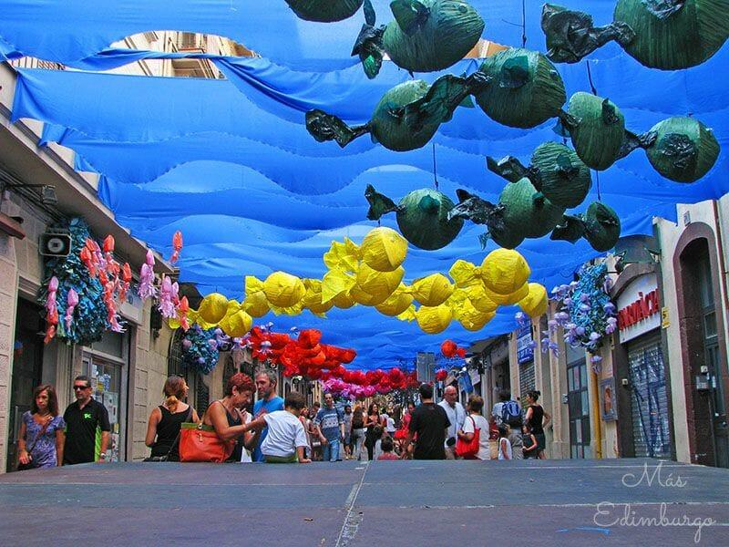Festes de Gracia Barcelona Mas Edimburgo 2