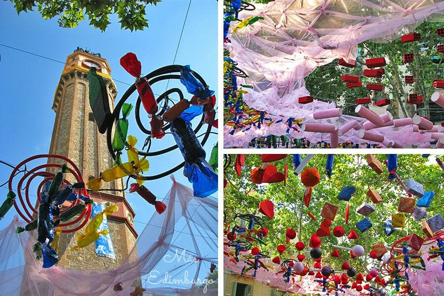 Festes de Gracia Barcelona Mas Edimburgo