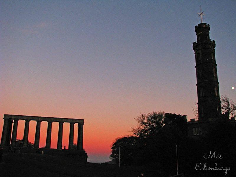 Monumento a Nelson Edimburgo
