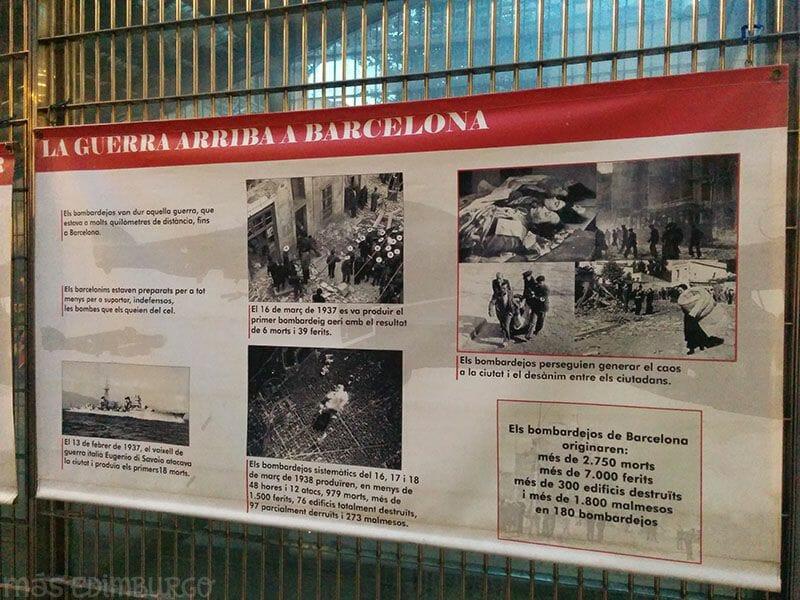 Refugi Plaça del Diamant Gracia Barcelona 8