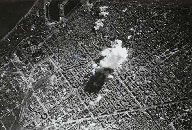 Bombardeo de Barcelona el 17 de marzo de 1938