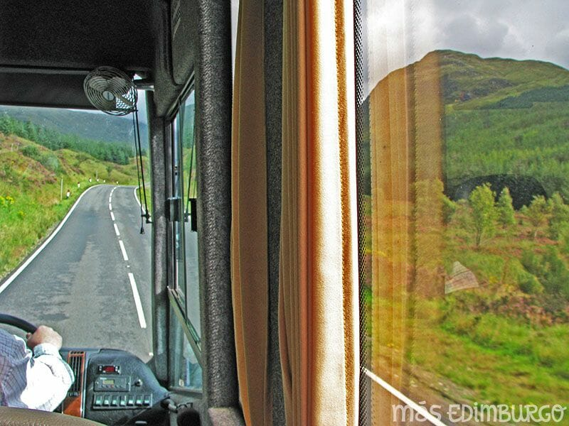 Ruta de 10 dias por Escocia en autobus