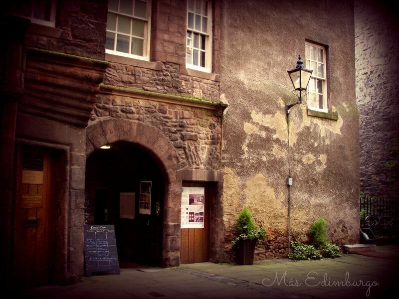 Riddle's Close, sombras e historia en la Royal Mile de Edimburgo