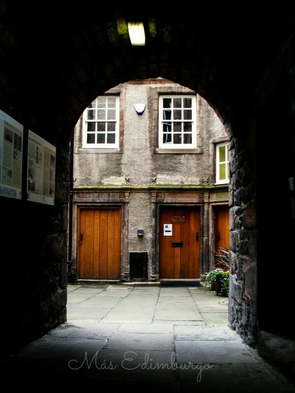 Riddles Close Royal Mile Edimburgo