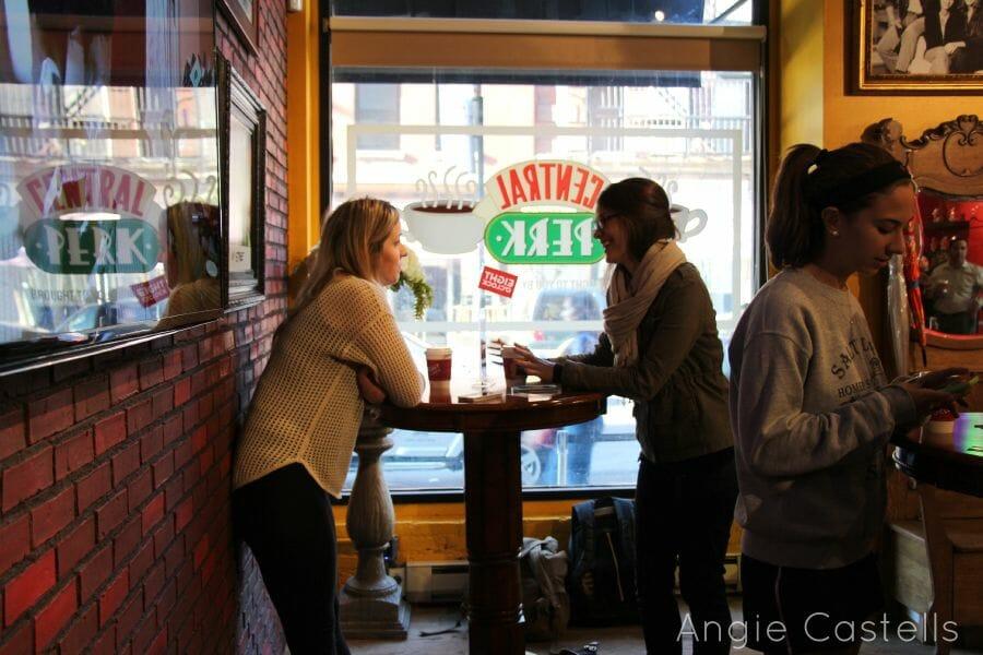 Central Perk cafetería de Friends Nueva York