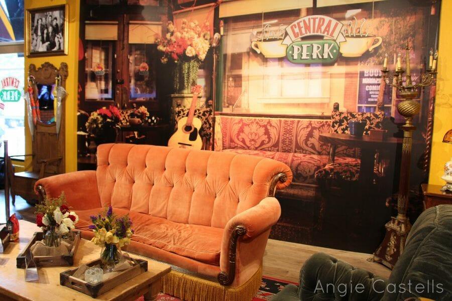 'El de Central Perk': la cafetería de Friends en Nueva York
