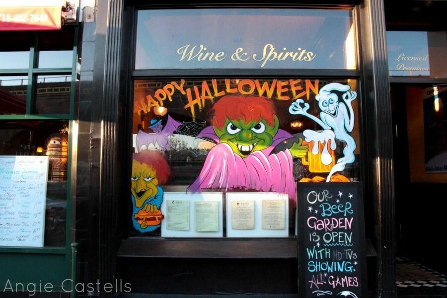 Decoraciones de Halloween en Nueva York Mas Edimburgo