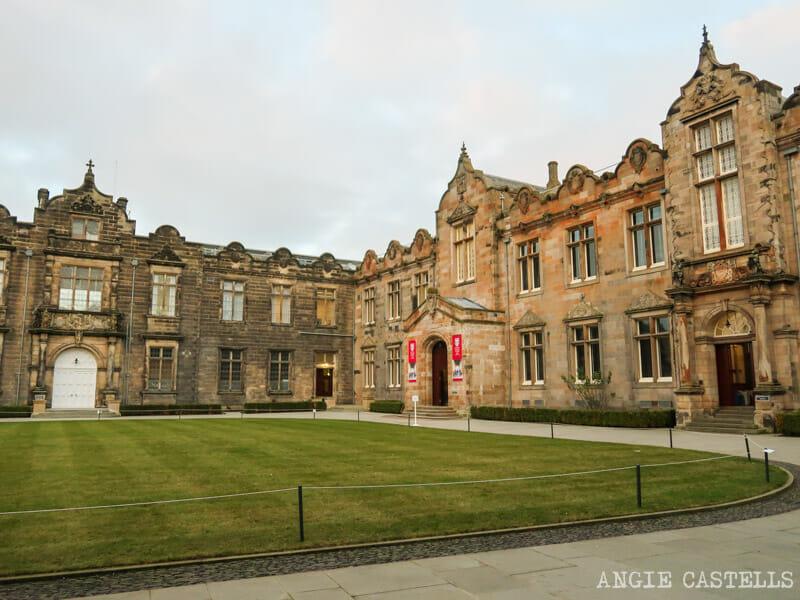 Visitar la Universidad de St Andrews en Escocia