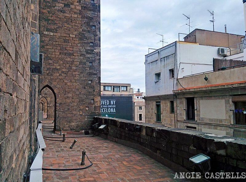 Terraza de Santa Maria del Mar, Barcelona