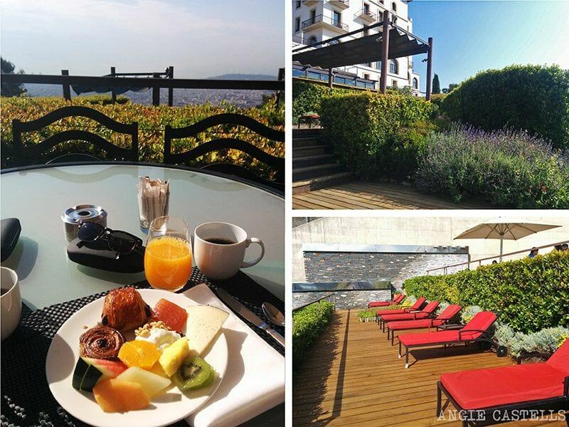 Desayuno Hotel la Florida Barcelona