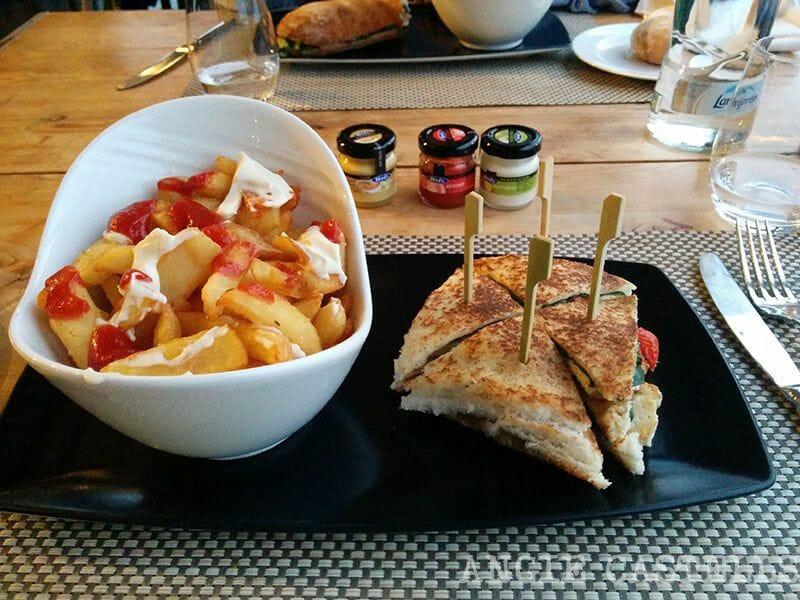 Hotel la Florida Barcelona restaurante