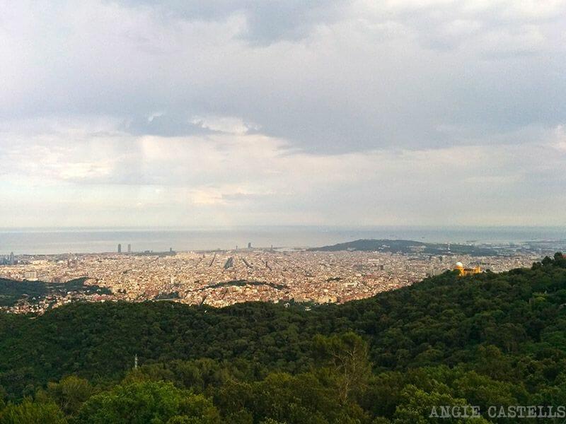 Panoramica Barcelona Tibidabo