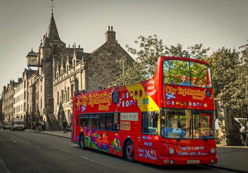 Tours en español por Edimburgo y Escocia - Bus turístico de Edimburgo