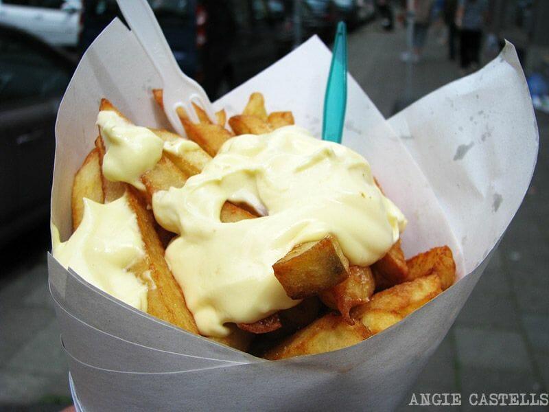 Patatas fritas Bruselas Maison Antoine