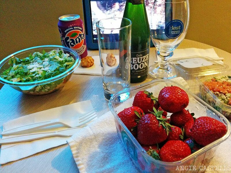 Comer en Bruselas EXKI