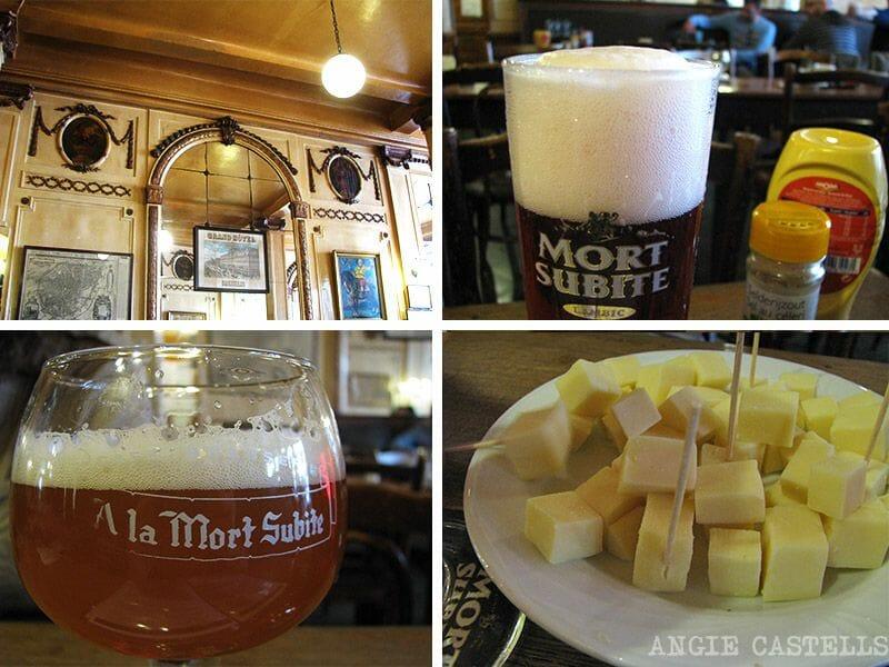 Cervezas Bruselas A la mort subite