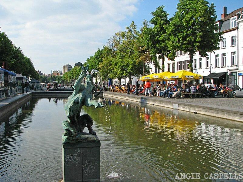 Comer en Bruselas Sainte Catherine