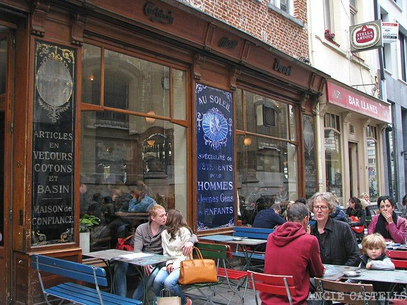 Comer en Bruselas Au Soleil