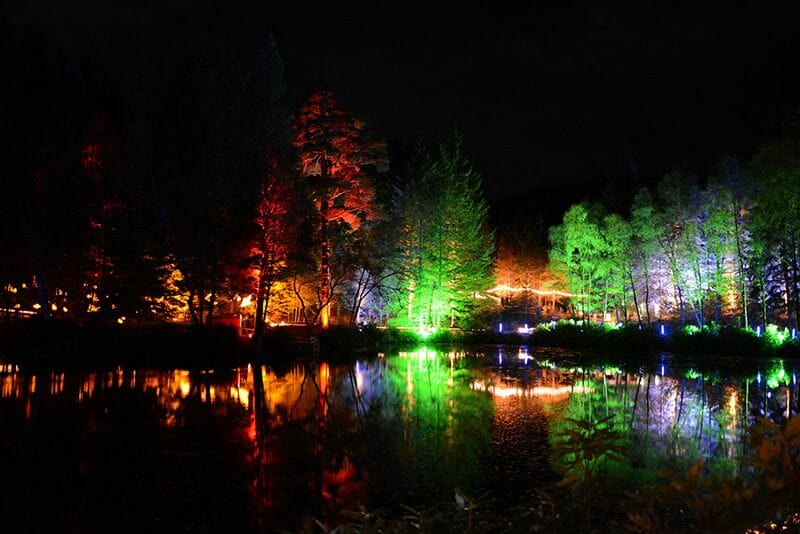 Pitlochry Enchanted Forest Escocia