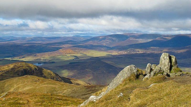 Pitlochry Ben Vrackie Escocia