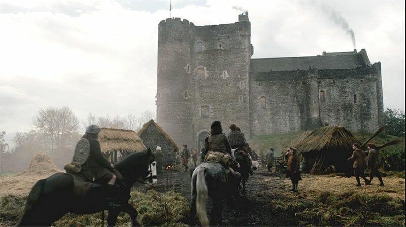 Outlander Escocia Castle Leoch Doune Castle