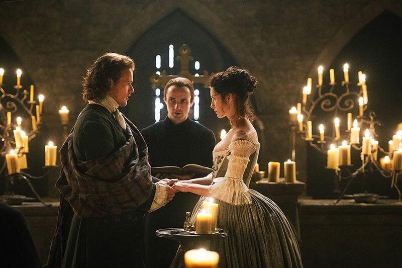 Escenarios de Outlander en Escocia - Glencorse Kirk y la boda de Claire y Jamie