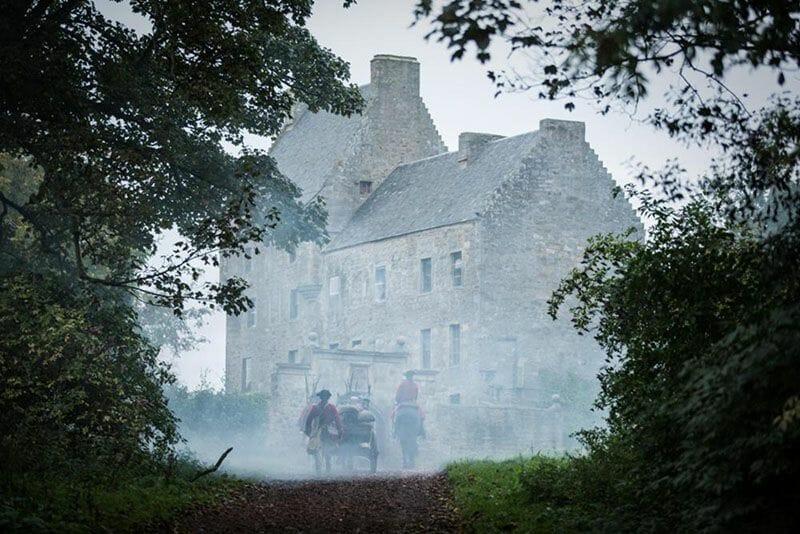 Escenarios de Outlander en Escocia - Lallybroch o Midhope Castle