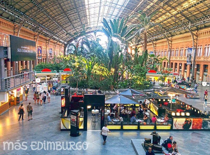 Un día en Madrid, estación de Atocha