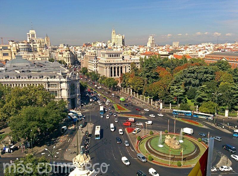 Un día en Madrid, Palacio de Cibeles
