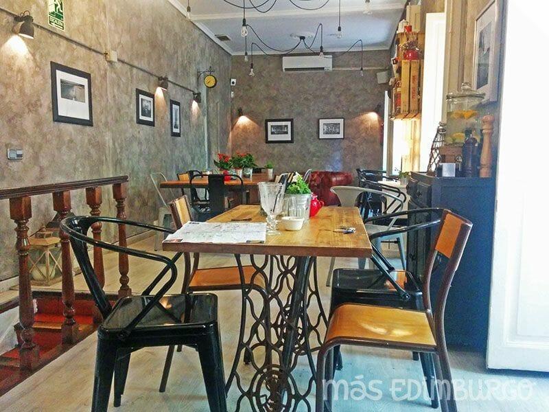 Un día en Madrid, Restaurante Mur