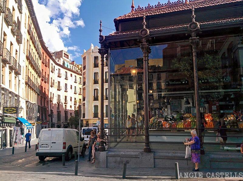 Un día en Madrid, Mercado de San Miguel