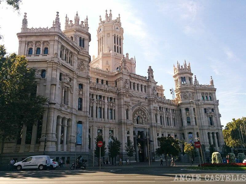 Un día en Madrid, Palacio Cibeles