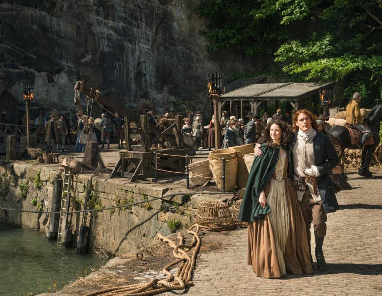 Dónde se rodó Outlander en Escocia - Puerto de Dysart