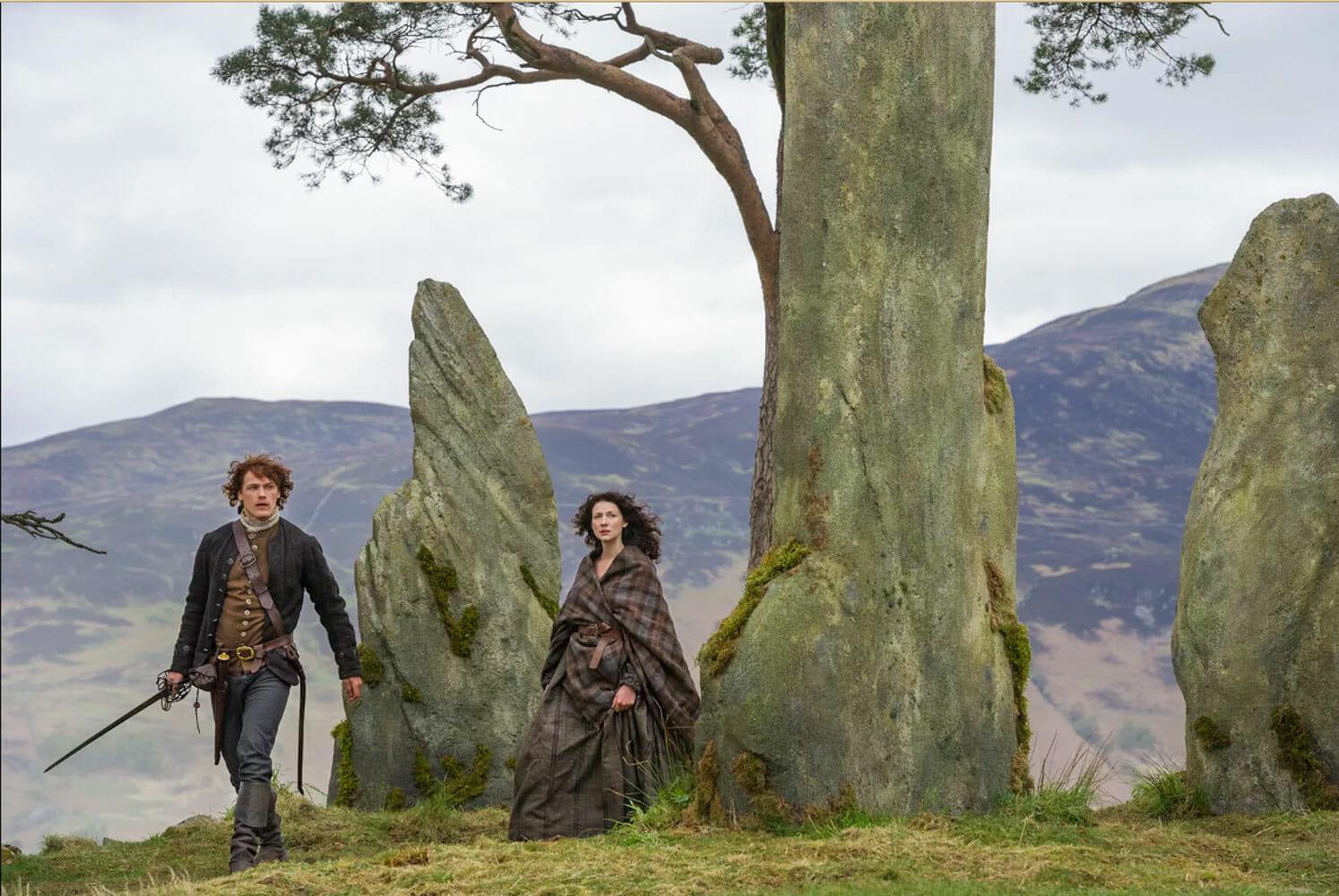 Dónde se rodó Outlander en Escocia y cómo visitar los escenarios