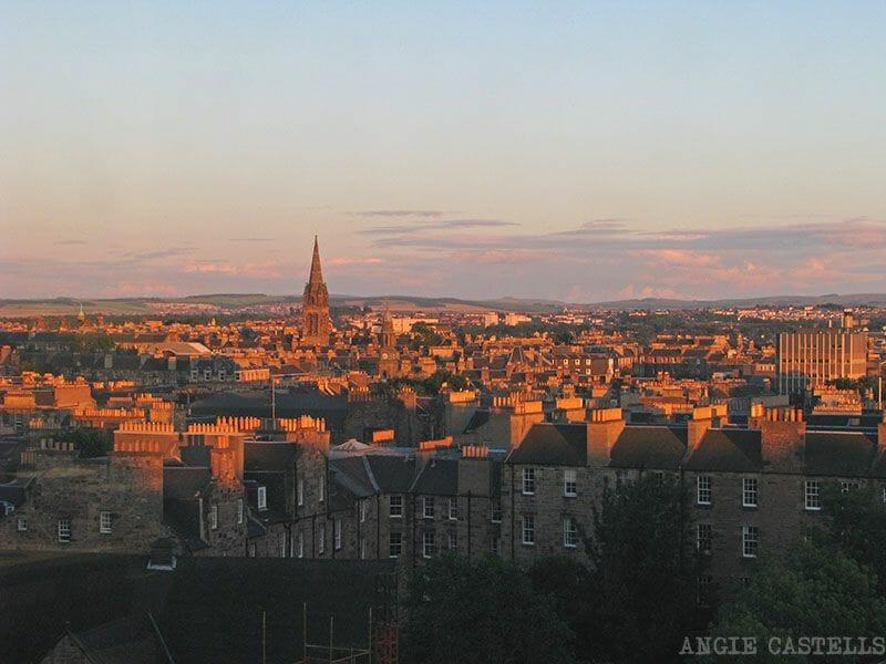 Edimburgo desde la University of Edinburgh
