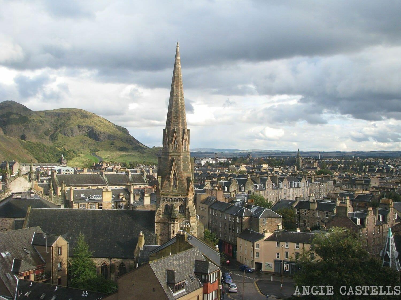 Vistas desde la Universidad de Edimburgo