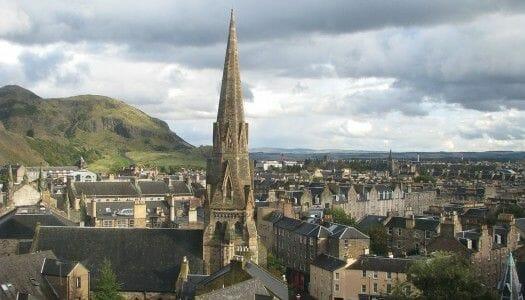 Postales desde uno de los edificios más odiados de Edimburgo