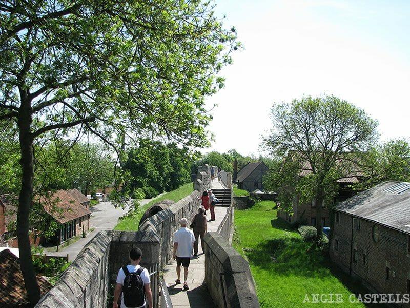 Visitar York Murallas Ruta por Inglaterra