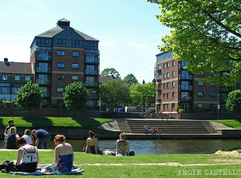 Visitar York río Ruta por Inglaterra