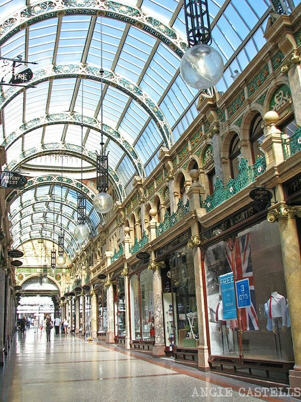 Visitar Leeds Victoria Quarter Ruta por Inglaterra