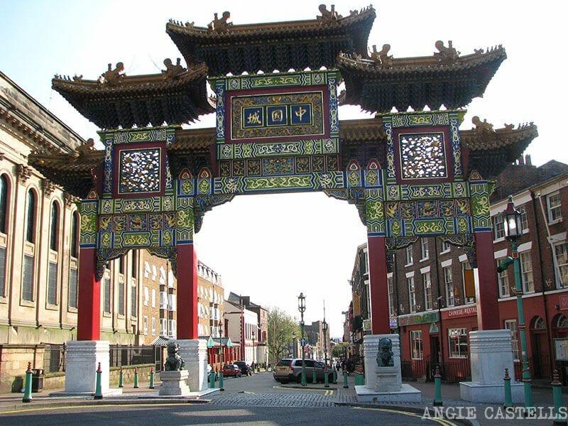 Visitar Liverpool Chinatown Ruta por Inglaterra