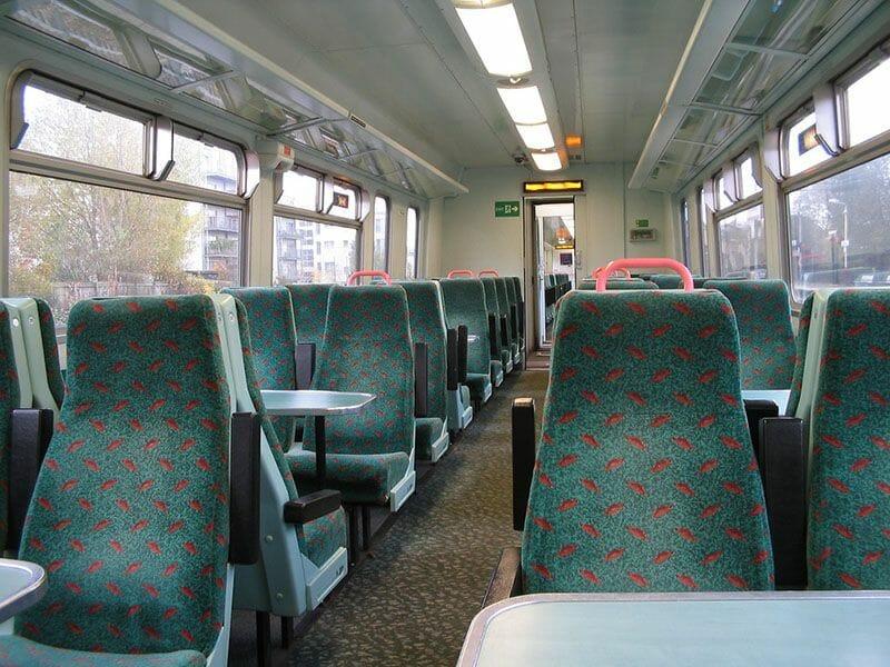 Viajar por Escocia en transporte público - Los trenes
